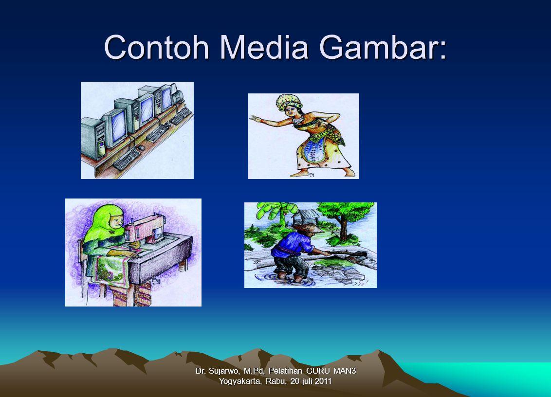 Contoh Media Gambar: Dr. Sujarwo, M.Pd, Pelatihan GURU MAN3 Yogyakarta, Rabu, 20 juli 2011