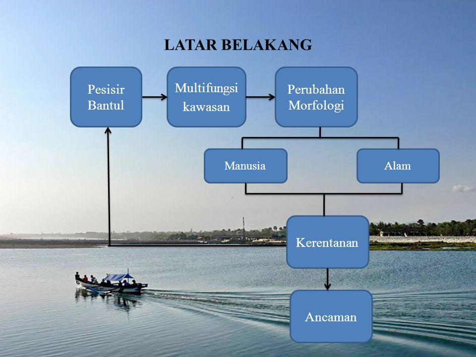 Identifikasi masalah penelitian ini adalah faktor fisik manakah yang memiliki tingkat kepentingan (bobot) paling besar pada kerentanan pesisir Kabupaten Bantul, Yogyakarta dengan metode AHP (Analitical Hirarchy Process).