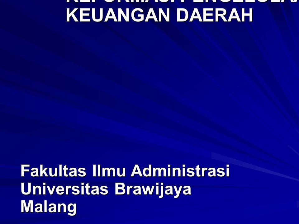 Dampak Reformasi Keuangan Daerah Pada Penyusunan APBD 1.