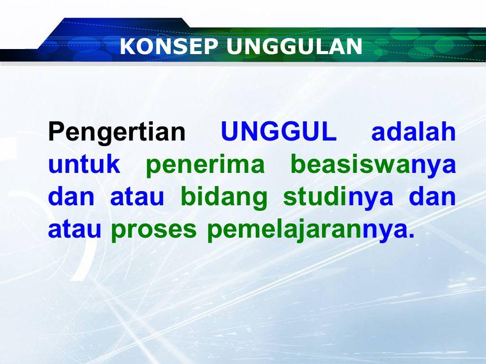 PENAMAAN BEASISWA UNGGULAN Sebelumnya PERSEMAIAN INSAN INDONESIA CERDAS Ruang Administrasi Calon Penerima BU Bid. Unggulan Gametech Kunjungan DPR ke U