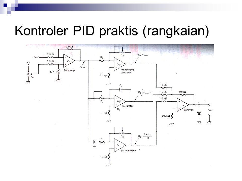 Kontroler PID praktis (rangkaian)