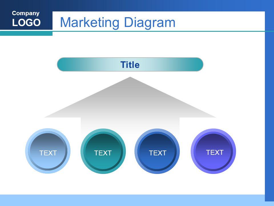 Company LOGO Marketing Diagram Title TEXT