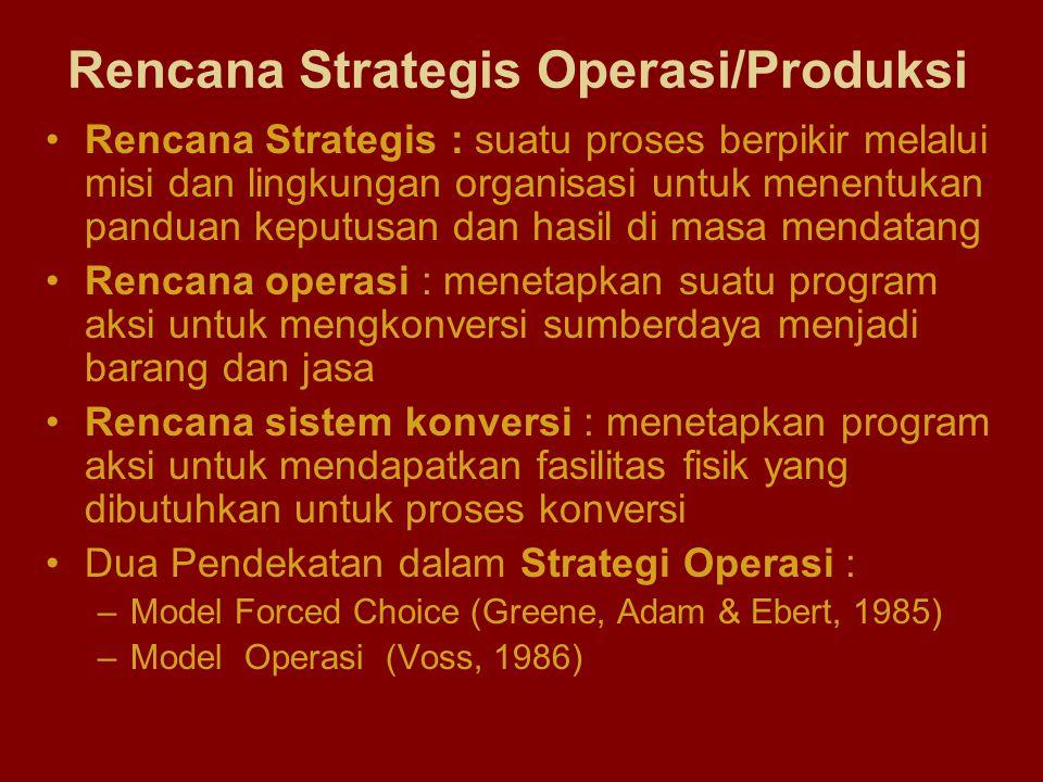 Rencana Strategis : suatu proses berpikir melalui misi dan lingkungan organisasi untuk menentukan panduan keputusan dan hasil di masa mendatang Rencan