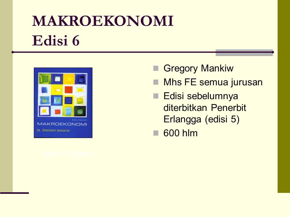 Schaum Outlines: MIKROEKONOMI Salvatore Para mhs FE semua jurusan yg mengambil Mikroekonomi Buku soal, bukan buku teks Edisi sebelumnya ditebitkan Penerbit Erlangga pada tahun 1994 250 hlm