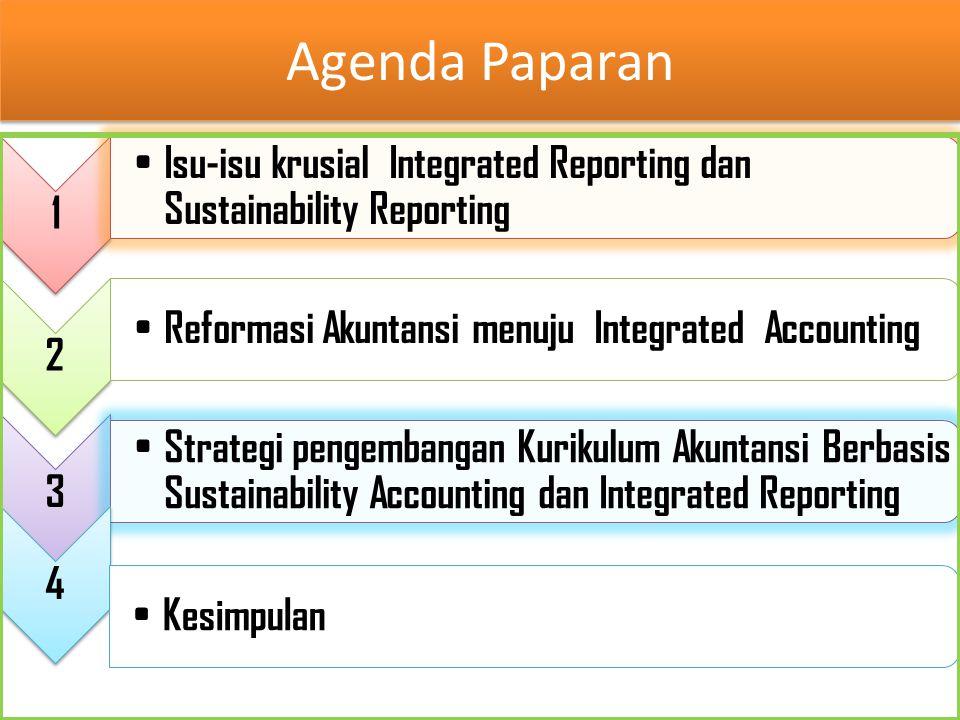 Isu-isu krusial Integrated Reporting dan sustainability Reporting