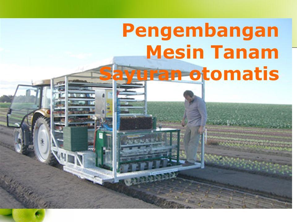 Pengembangan Mesin Tanam Sayuran otomatis
