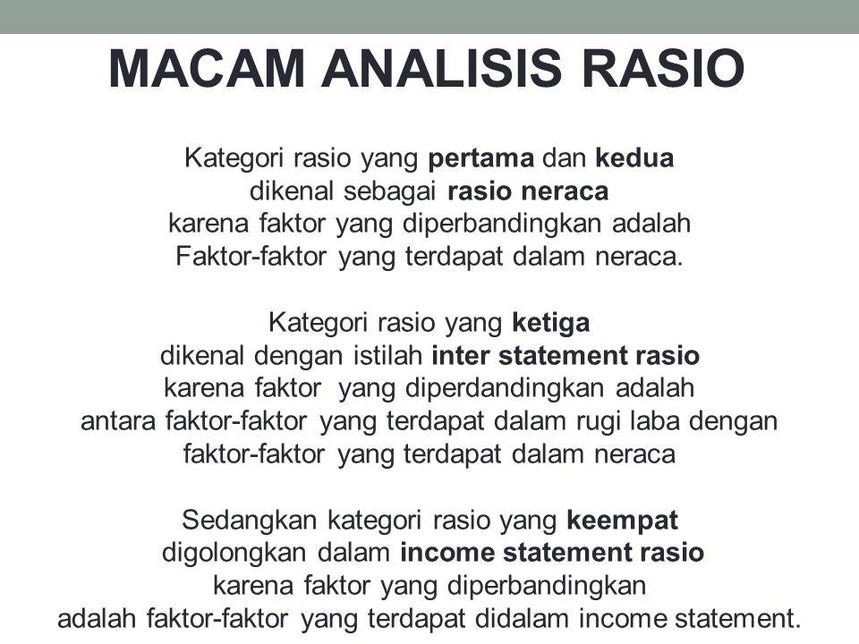 Liquidity Ratio atau Rasio Likuiditas LIQUIDITY RATIO atau RASIO LIKUIDITAS