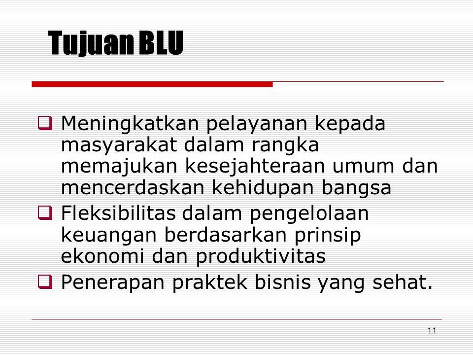 10 Rencana kerja dan anggaran (RKA), LK dan kinerja BLU disusun dan disajikan sebagai bagian yang tidak terpisahkan dari RKA serta laporan keuangan da