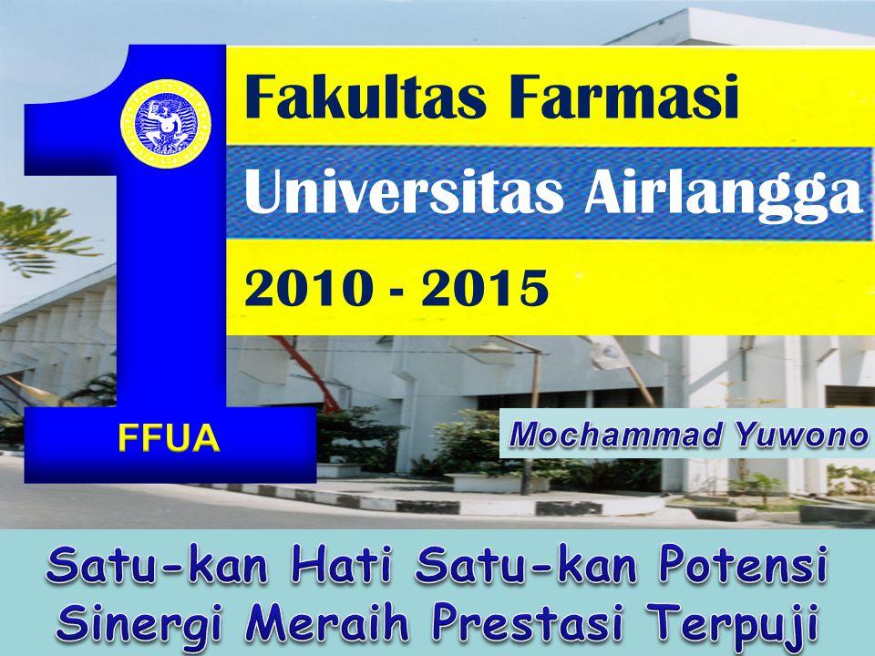 Fakultas Farmasi Universitas Airlangga 2010 - 2015