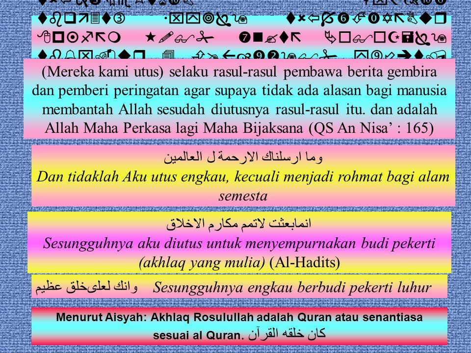Kelahiran Nabi Muhammad SAW & dampaknya pada peradaban dunia Sugijanto