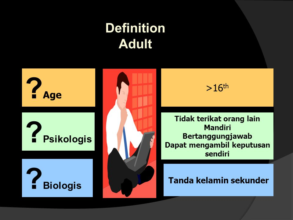 Adult learning Characteristics (Malcolm Knowles) 1.