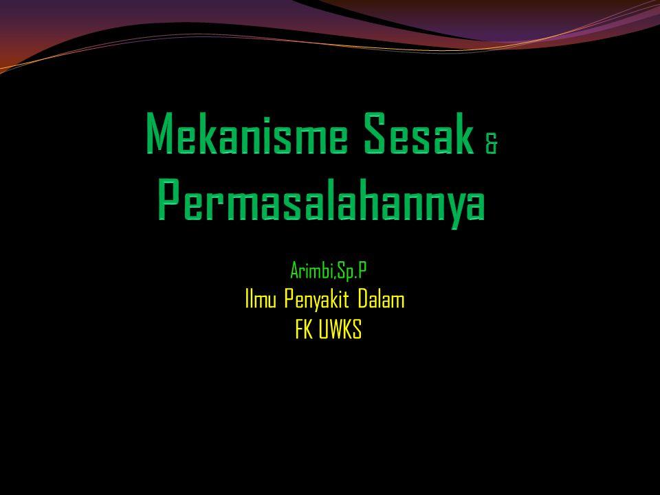 Arimbi,Sp.P Ilmu Penyakit Dalam FK UWKS