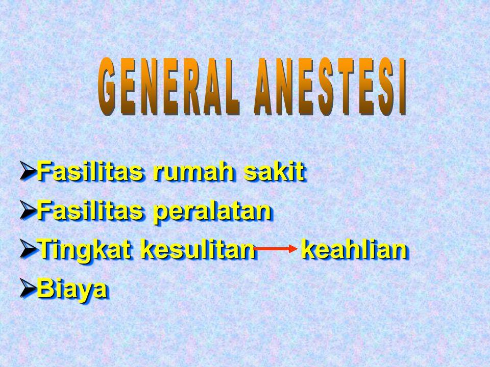 """""""Inform consent"""" Lebih """"menguntungkan"""" dibanding G.A (General Anestesi)"""