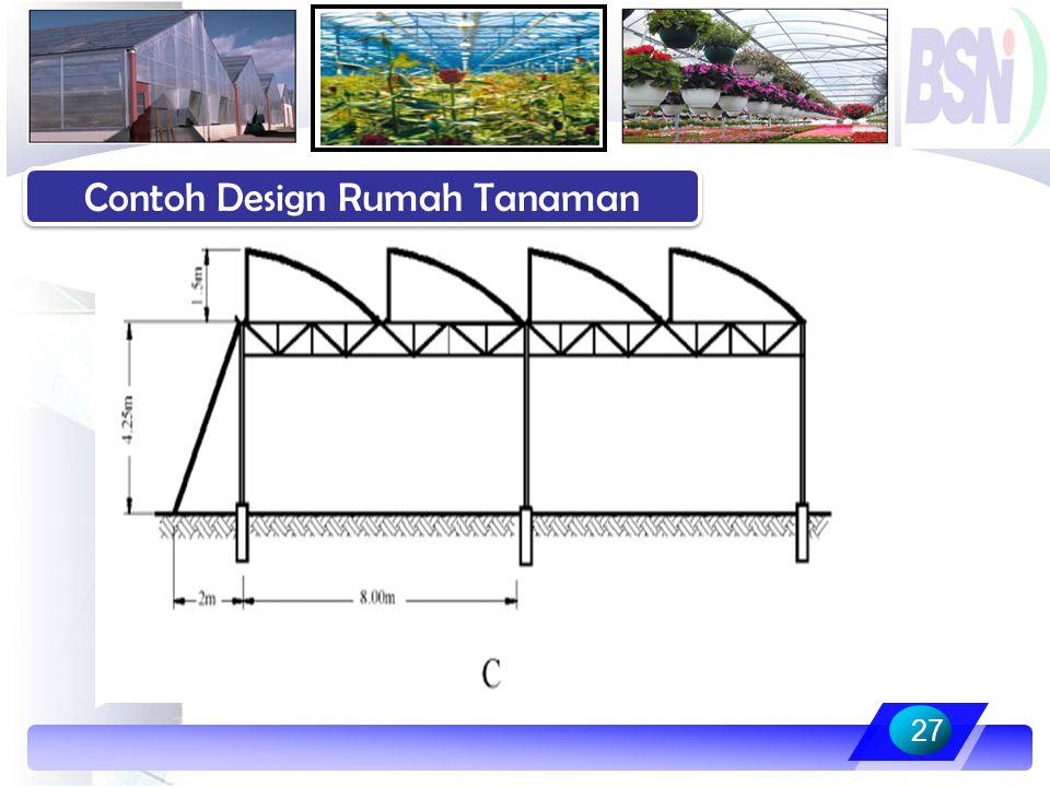 27 Contoh Design Rumah Tanaman
