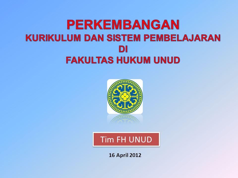 Tim FH UNUD 16 April 2012