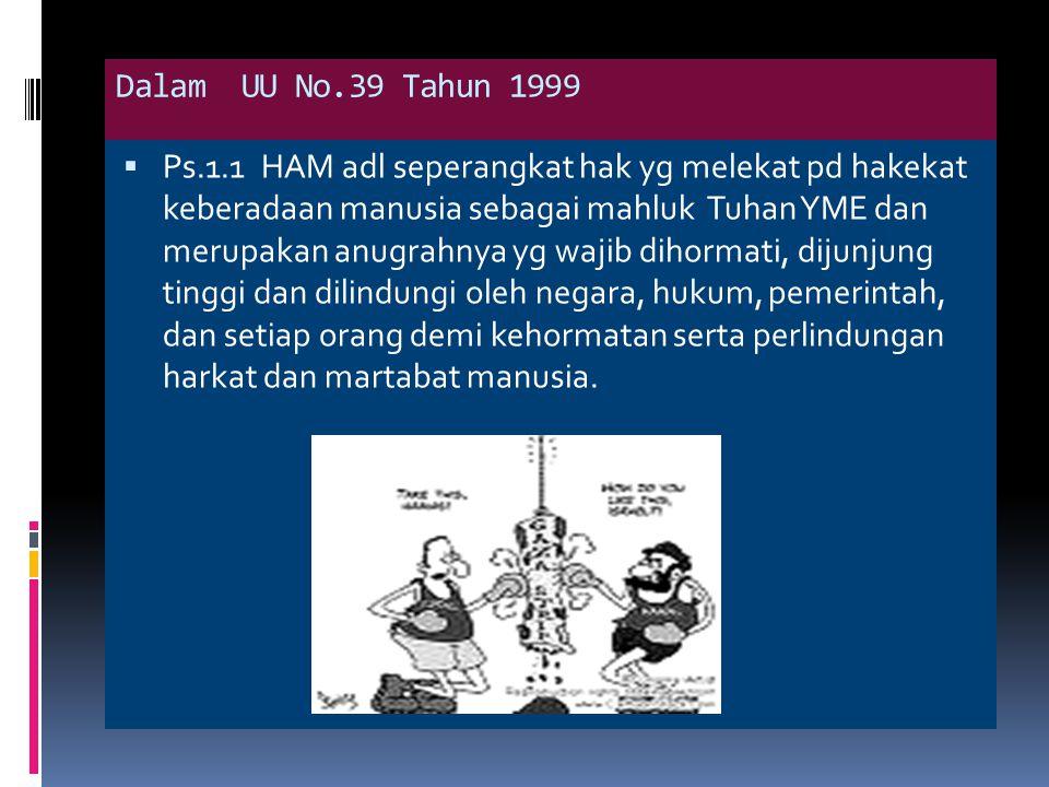 Difinisi HAM  Hendarmin Ranadireksa Adl seperangkat ketentuan atau aturan untuk melindungi warga negara dari kemungkinan penindasan, pemasungan dan tau pembatasan rusang gerak warganegara oleh negara.