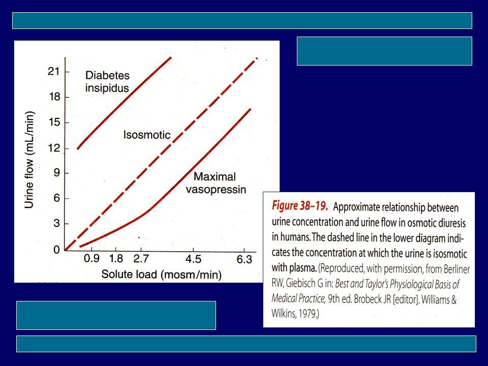 ADH (vasopressin) --> Meningkatkan reabsorbsi air di tub. Cont. distalis dan collectivus Diuresis --> Berbagai mekanisme