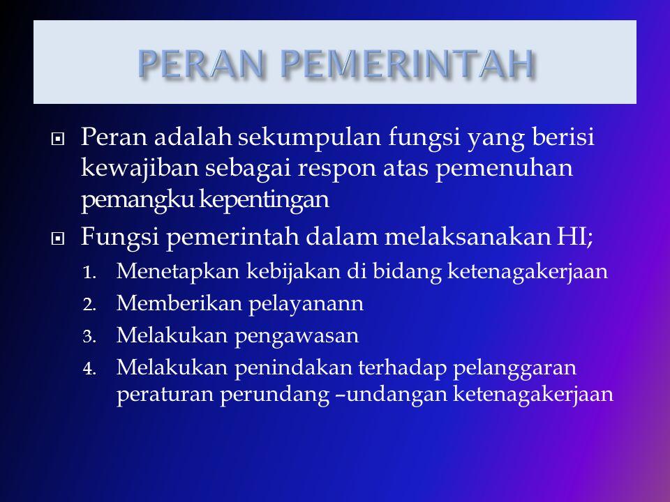  Indonesia sebagai Negara yang menganut sistem Civil Law, menempatkan kaedah heteronom (Peraturan perundang-undangan) menjadi sumber hukum perburuhan