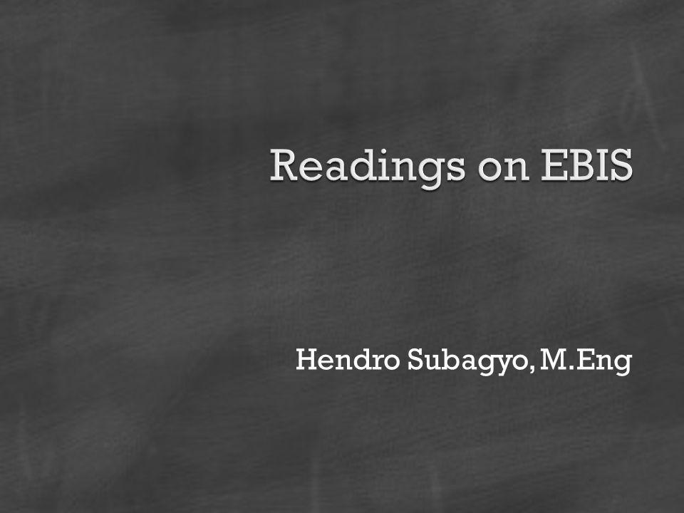 Hendro Subagyo, M.Eng