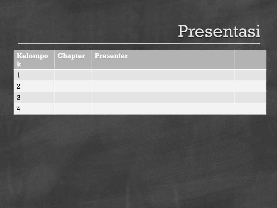  Notulensi tugas presentasi kelompok  Item Identitas: Nama,NIM Notulen presentasi kelompok Refleksi  Catatan pribadi ttg topik/tema  Catatan pribadi ttg presentasi & diskusi  Dikirim 2 pekan setelah hari ini ke: hendro.subagyo+udinus12crbn@gmail.com
