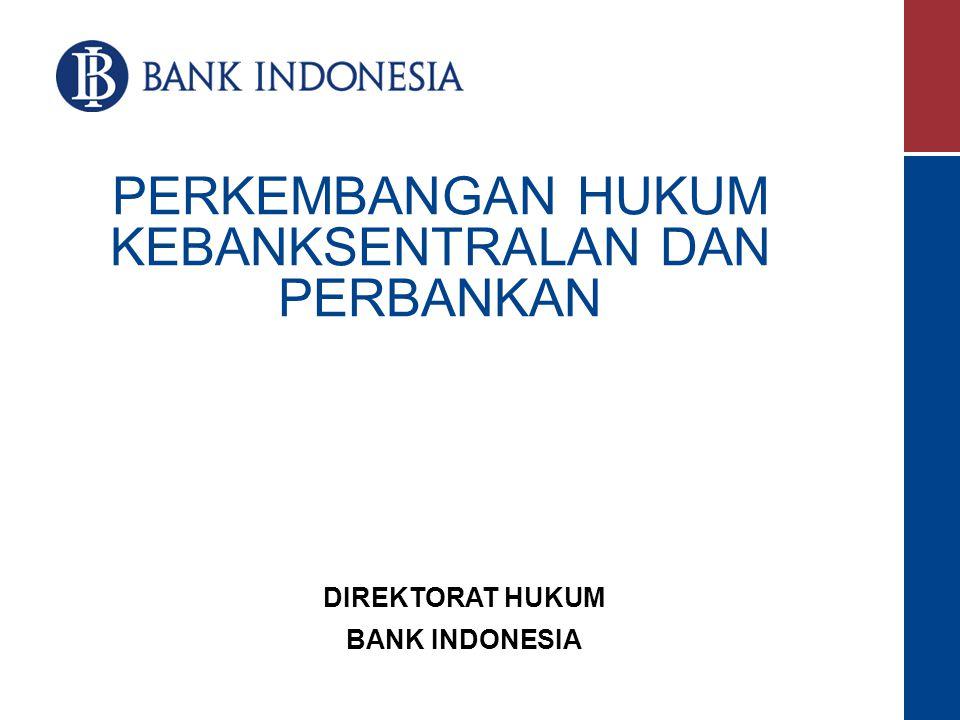 Dewan Gubernur Pemimpin Bank Indonesia Deputi Gubernur Senior 1 orang Sebagai wakil dari Gubernur Deputi Gubernur 4 s/d 7 orang Pasal 37 DG terdiri atas seorg Gub, seorg DGS, & sekurang 2 nya 4 atau sebanyak 2 nya 7 org DpG.