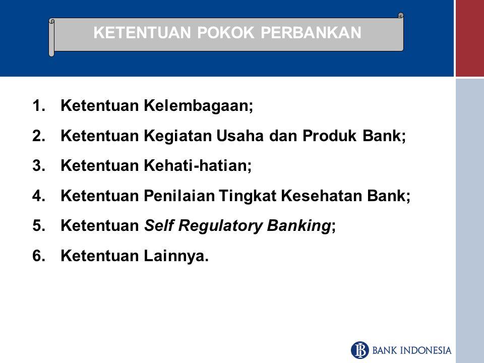 Memberikan rambu-rambu bagi penyelenggaraan kegiatan usaha perbankan guna mewujudkan sistem perbankan yang sehat;  Mengoptimalkan fungsi perbankan