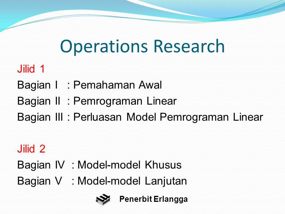 Hubungan antara primal-dual bawika dengan program LINDO Penerbit Erlangga