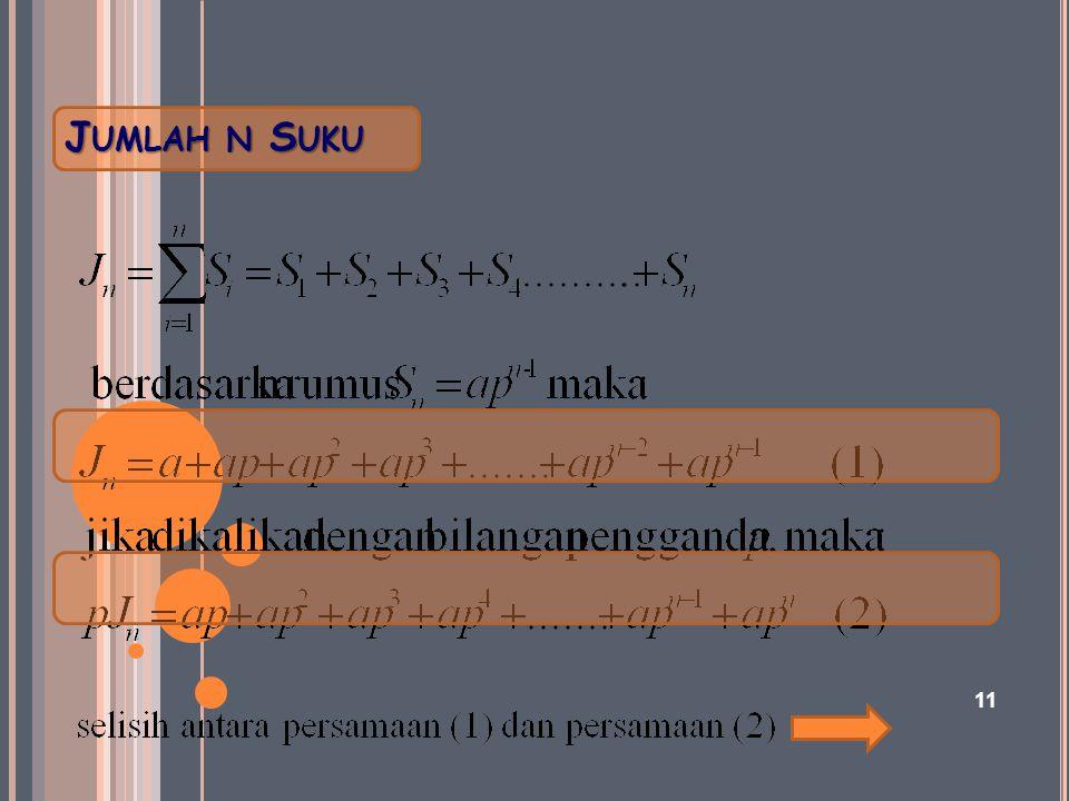 J UMLAH N S UKU 11