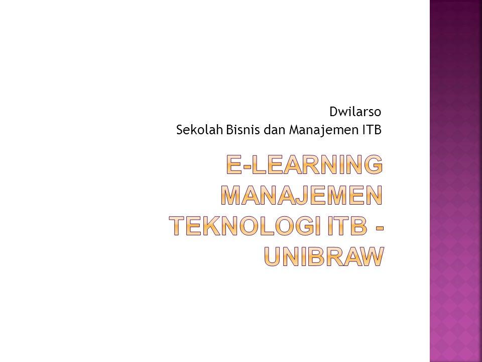Dwilarso Sekolah Bisnis dan Manajemen ITB