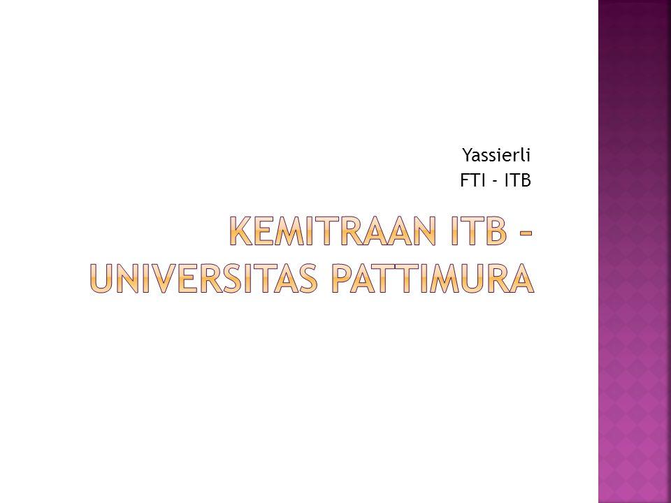 Yassierli FTI - ITB
