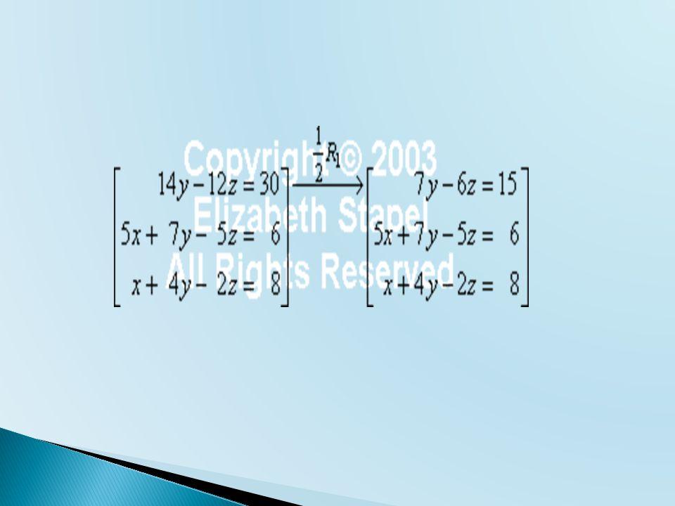  Matriks segitiga atas  Matriks simetri
