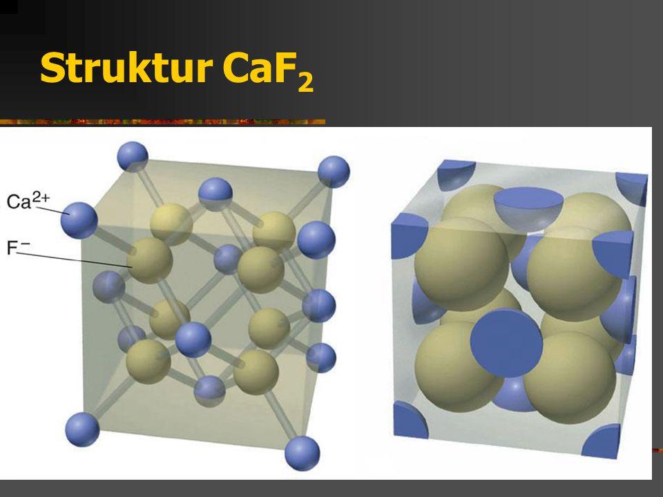 Struktur CaF 2