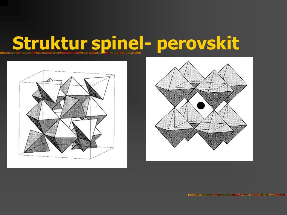 Struktur spinel- perovskit