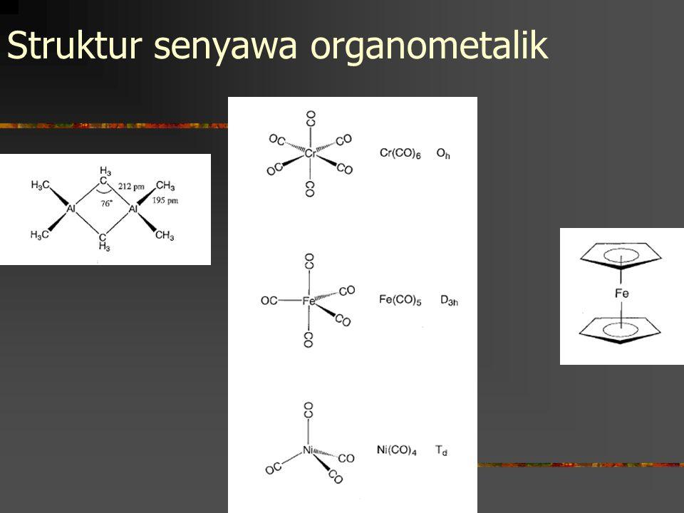 Struktur senyawa organometalik