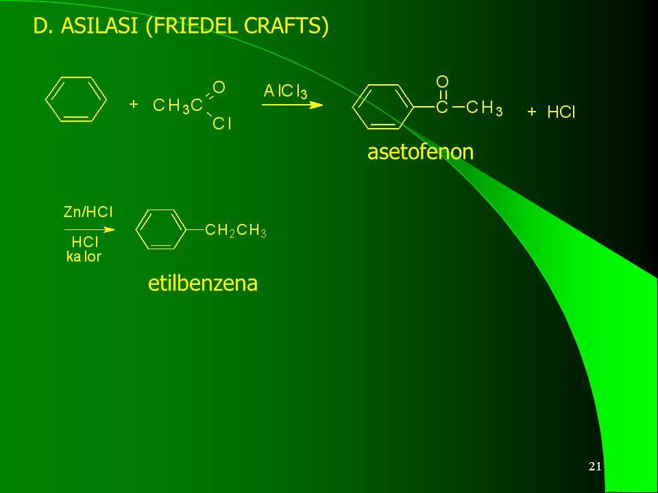 22 E. SULFONASI Asam benzensulfonat