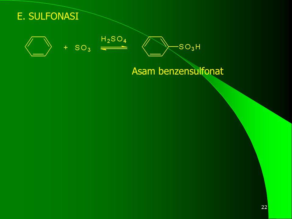 23 SUBSTITUSI KEDUA m-dinitrobenzena 2,4,6-tribromobenzena NH 2 merupakan GUGUS AKTIVASI Tak perlu katalis, lebih cepat Memerlukan asam nitrat berasap, temperatur tinggi dan waktu lama NO 2 merupakan GUGUS DEAKTIVASI