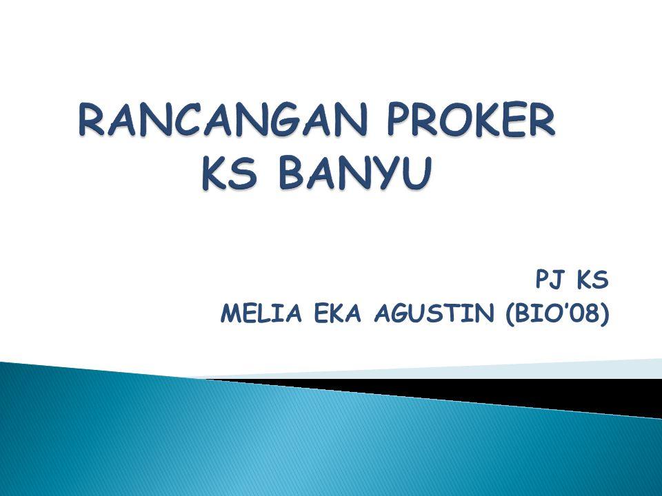 PJ KS MELIA EKA AGUSTIN (BIO'08)