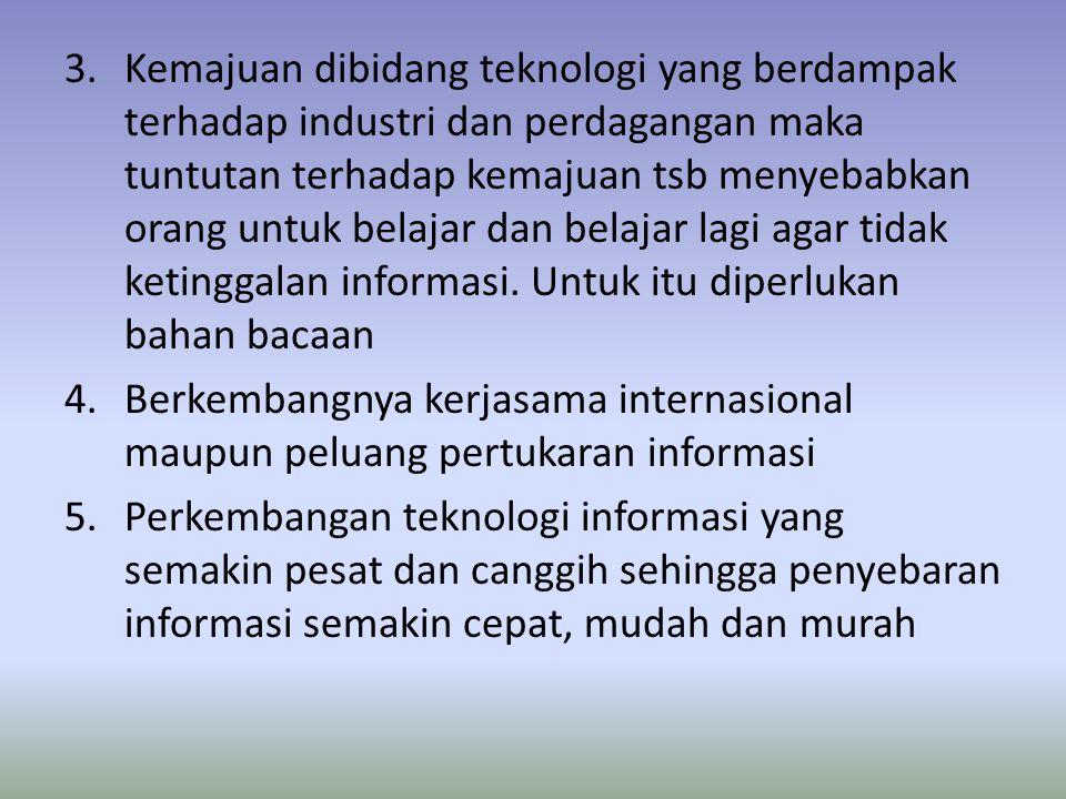 6.Fakta menunjukkan bahwa pelayanan informasi terhadap masyarakat masih belum merata.
