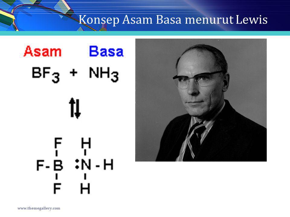 Konsep Asam Basa menurut Lewis www.themegallery.com