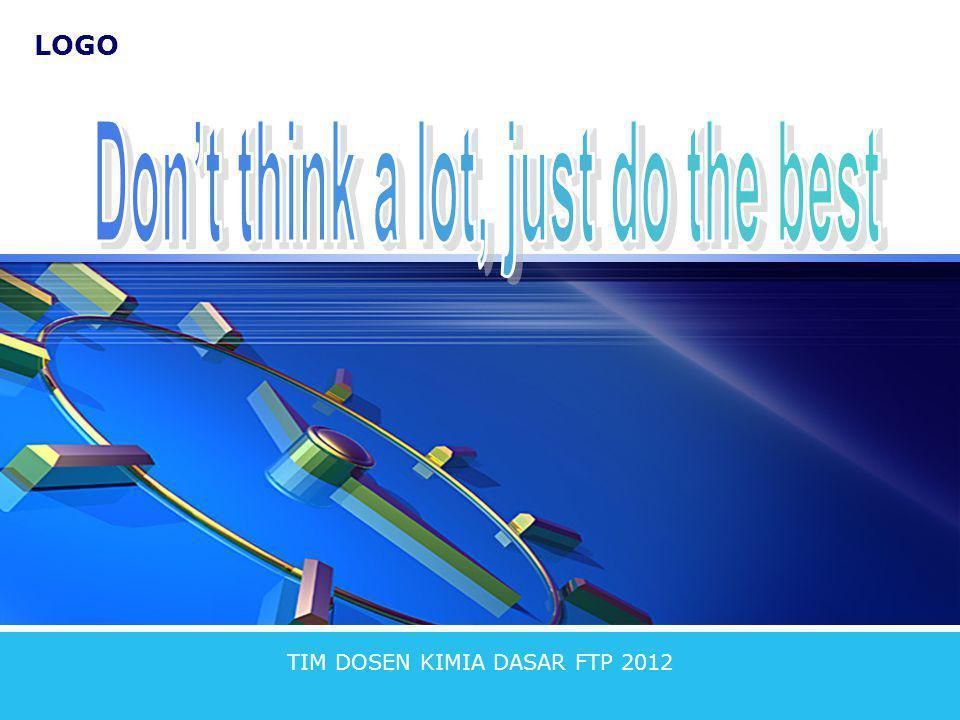 LOGO TIM DOSEN KIMIA DASAR FTP 2012