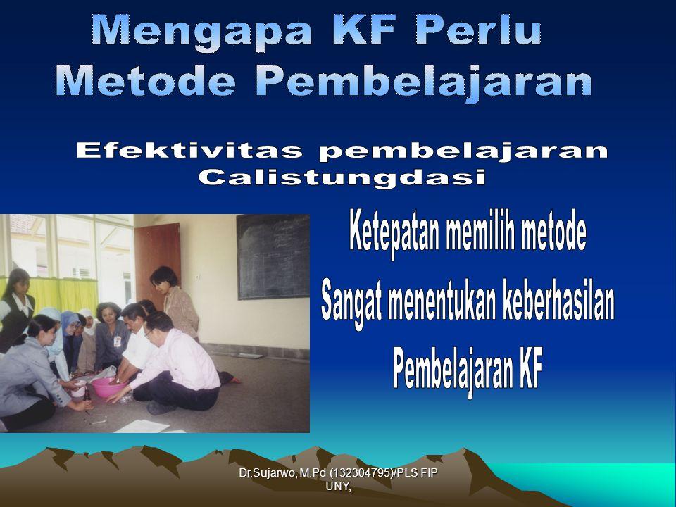 Dr.Sujarwo, M.Pd (132304795)/PLS FIP UNY, Disampaikan dalam Kegiatan METODE PEMBELAJARAN KEAKASARAAN FUNGSIONAL Oleh: Dr.