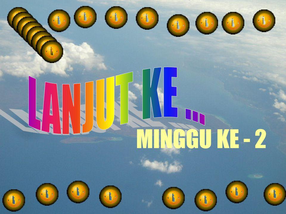 MINGGU KE - 2