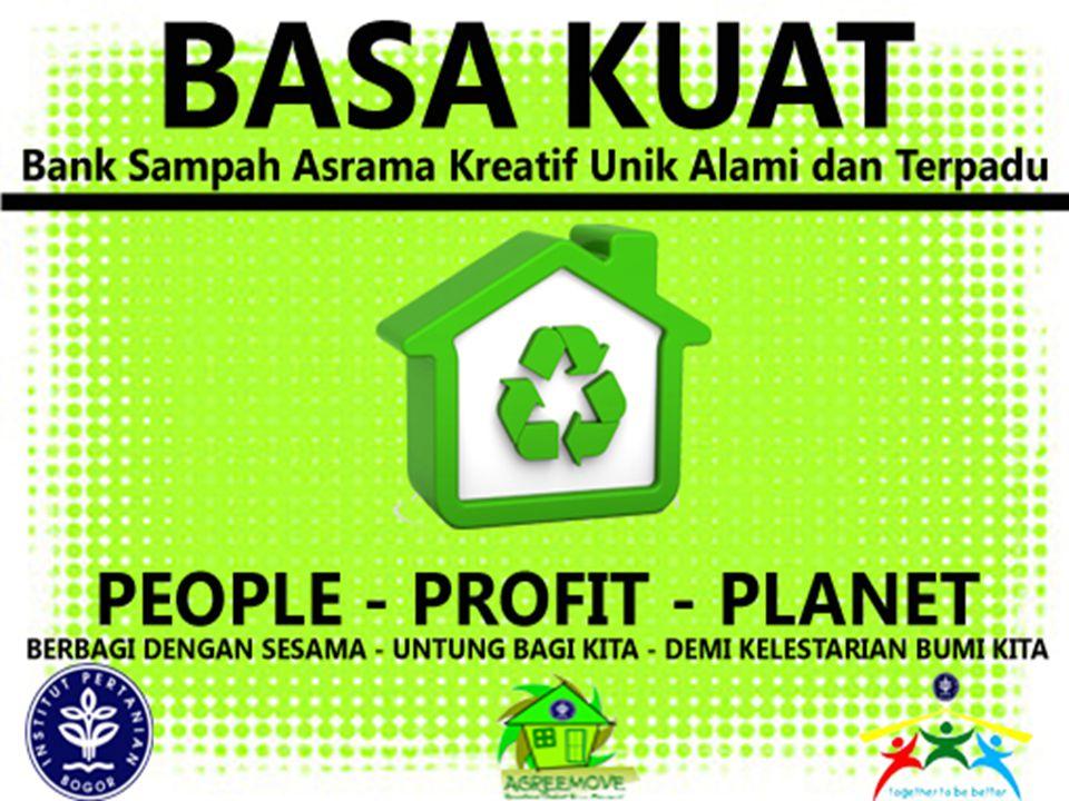 LATAR BELAKANG Asrama Penyumbang Sampah terbesar di IPB Potensi Sampah Asrama Belum optimalnya pengelolaan sampah Pengelolaan Sampah yang memperhatika