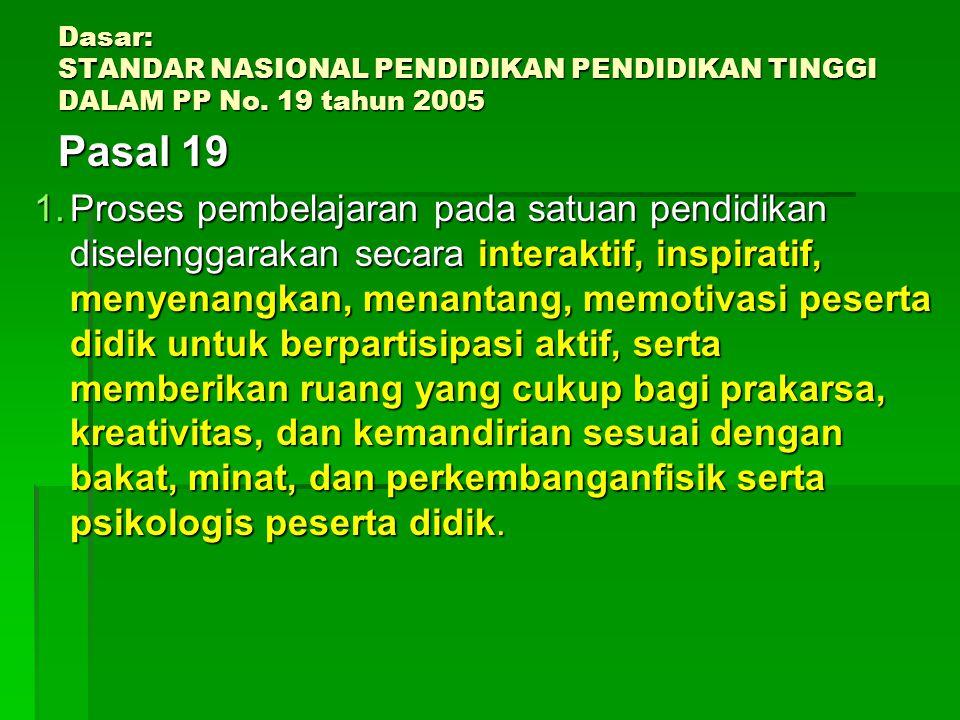 Pengalaman Belajar/Kegiatan Pembelajaran Kegiatan (fisik/mental) yg harus dilakukan mahasiswa untuk mencapai KDKegiatan (fisik/mental) yg harus dilaku