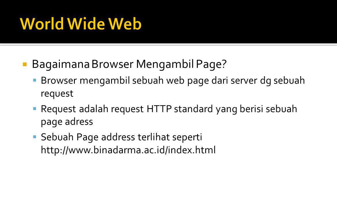 Bagaimana Browser Menampilkan Page.