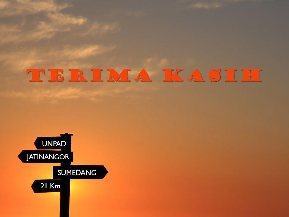 TERIMA KASIH UNPAD JATINANGOR SUMEDANG 21 Km
