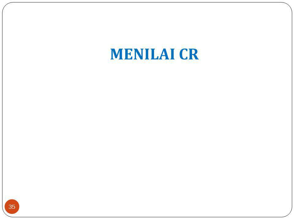 MENILAI CR 35