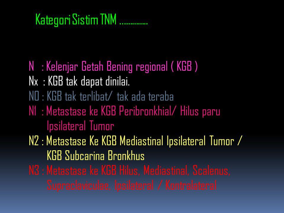 Kategori Sistim TNM..............
