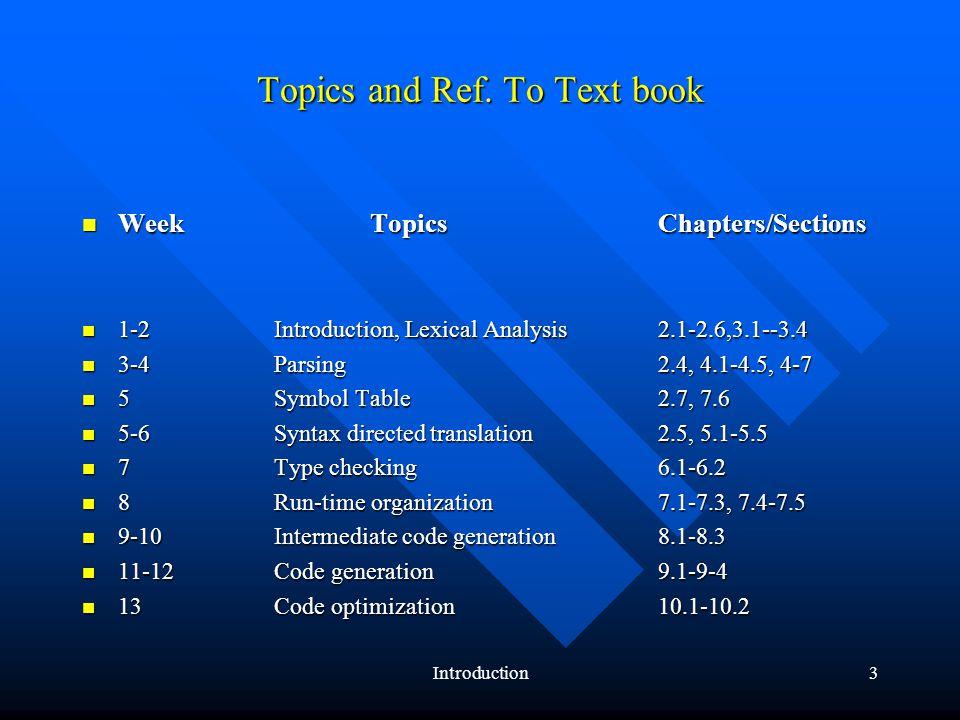 Introduction4 Tools: http://telaga.cs.ui.ac.id/WebKuliah/IKI40800/jtools.html –http://www.cs.princeton.edu/~appel/modern/java/JLex/ http://www.cs.princeton.edu/~appel/modern/java/JLex/ –http://www.cs.princeton.edu/~appel/modern/java/CUP/ http://www.cs.princeton.edu/~appel/modern/java/CUP/ –http://www2.informatik.unibw-muenchen.de/Research/Tools/JACCIE/jaccie.html http://www2.informatik.unibw-muenchen.de/Research/Tools/JACCIE/jaccie.html –http://www.jflex.de/ http://www.jflex.de/ –http://troi.lincom-asg.com/~rjamison/byacc/ http://troi.lincom-asg.com/~rjamison/byacc/ –http://www.javaworld.com/javaworld/jw-12-1996/jw-12-jack.html http://www.javaworld.com/javaworld/jw-12-1996/jw-12-jack.html