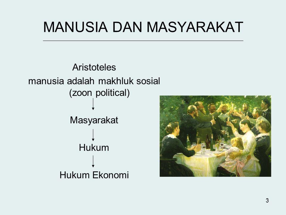 14 TUJUAN HUKUM Memgatur pergaulan hidup manusia secara damai (Prof.